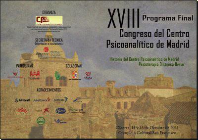 Resumen XVIII Congreso del Centro Psicoanalítico de Madrid