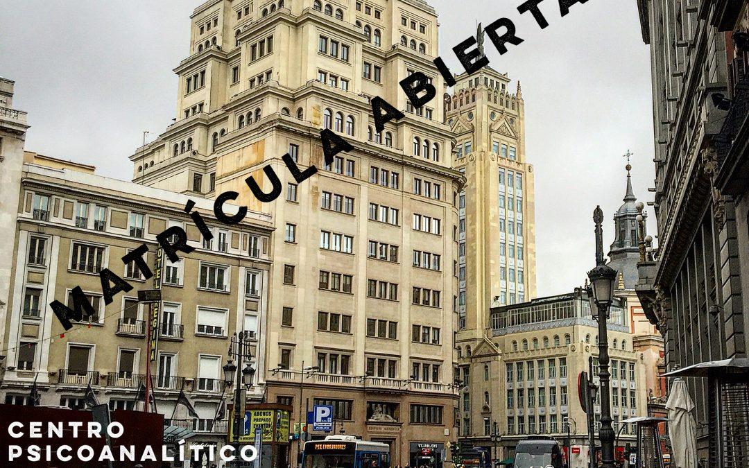 Inicio Ciclo Formativo Madrid 2018-2021