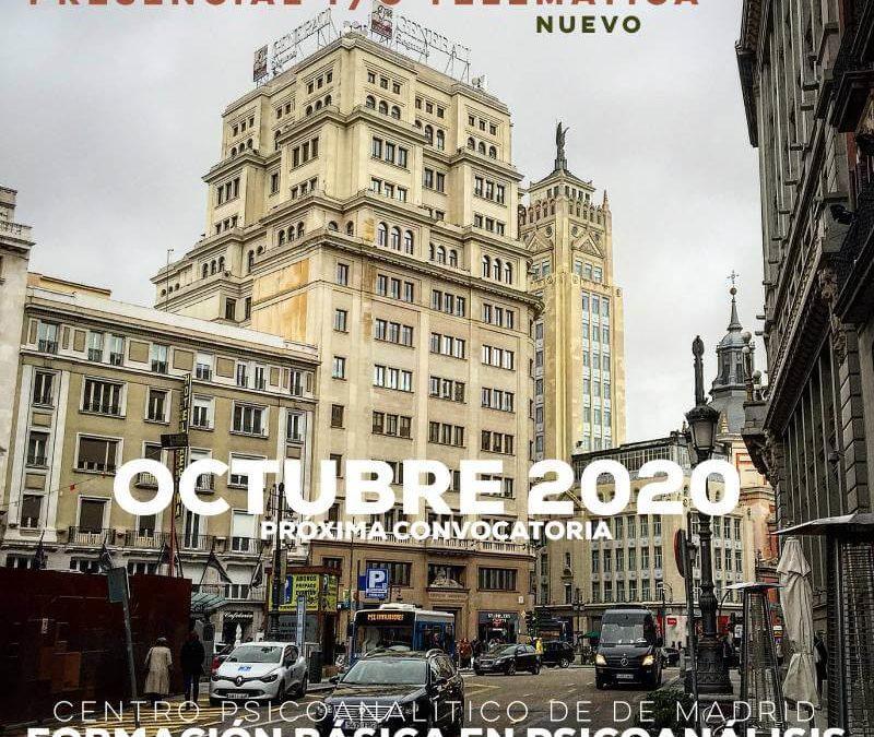Ciclo formativo 2020-2023