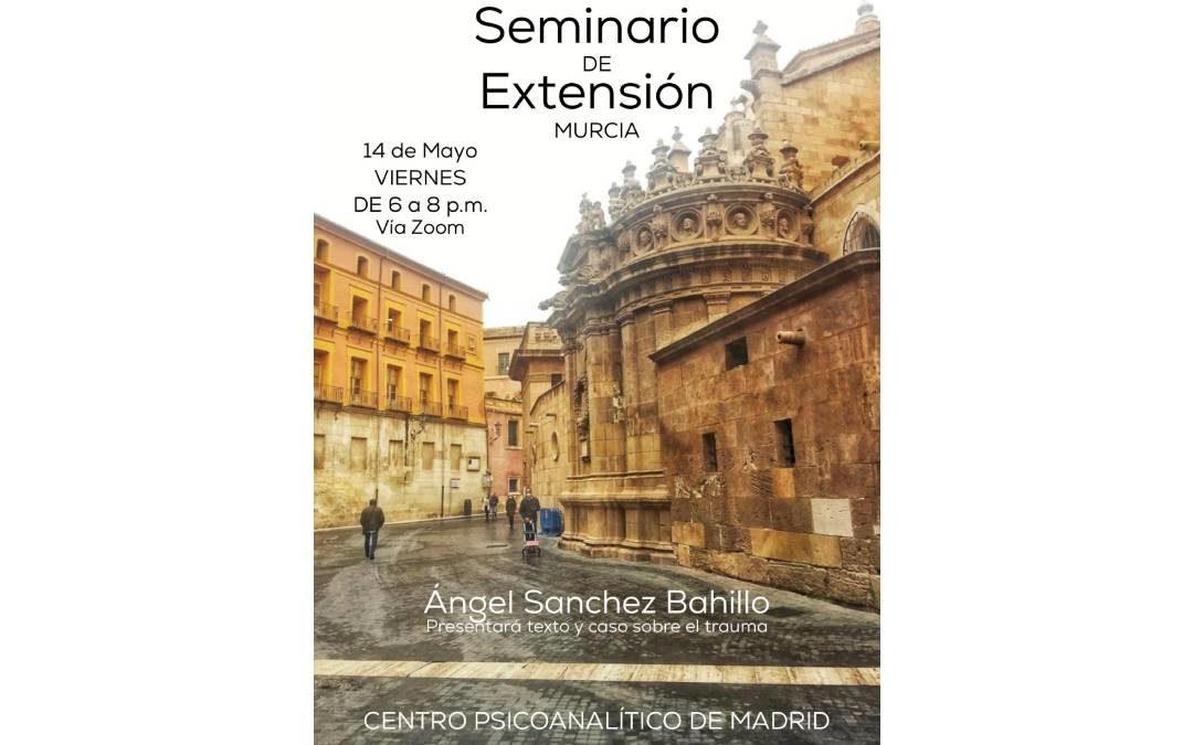 Seminario de extensión de Murcia. Mayo 2021
