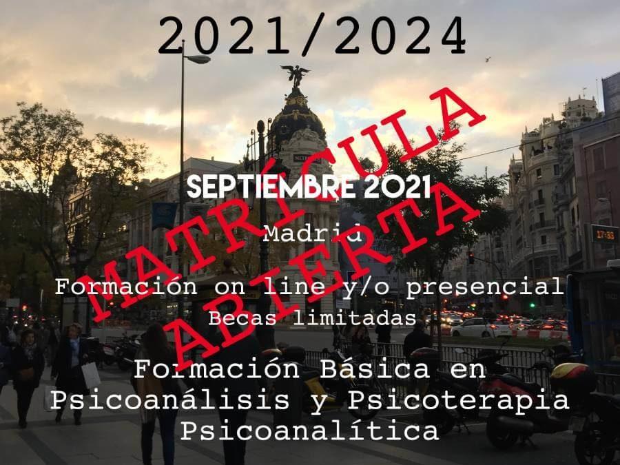 Ciclo formativo 2021-2024 (Madrid)