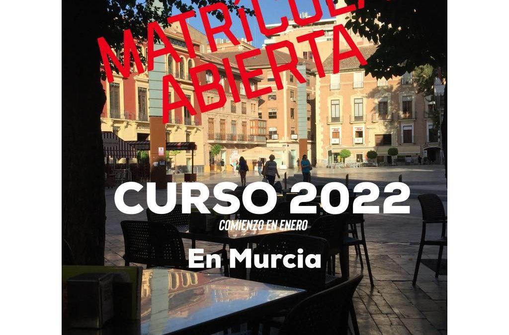 Curso 2022-2022 en Murcia